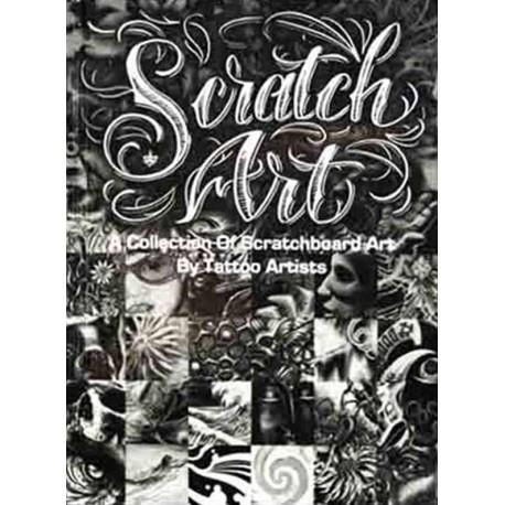 libro tatuaggio scratch art collection scratchboard various artists tattoo book
