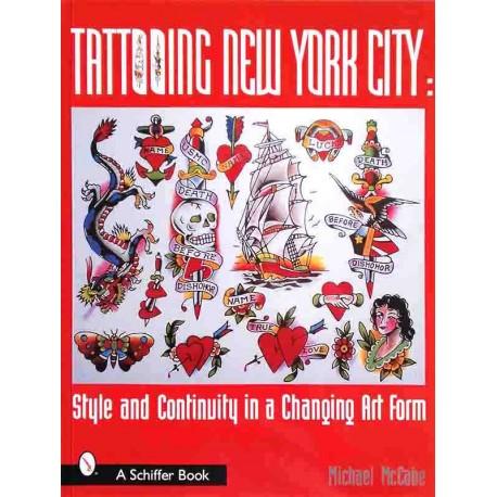 libro tatuaggio tattooing new york michael mccabe tattoo book