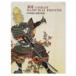 101 great samurai prints kuniyoshi tattoo book libro tatuaggio giapponese