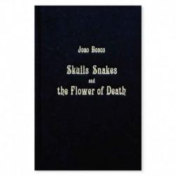 skulls snakes flower of death joao bosco tattoo book libro tatuaggio