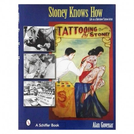 libro tatuaggio stoney knows how life slideshow alan govenar tattoo book