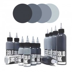 colori tatuaggio solid ink opaque grey set silver smoke cool grey onyx tattoo colors