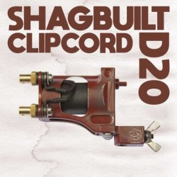 shagbuilt d20 tattoo machine clip cord red