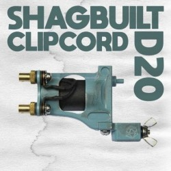 shagbuilt d20 tattoo machine clip cord blue supply