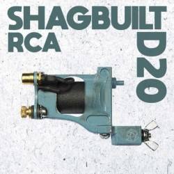 shagbuilt d20 tattoo machine rca blue