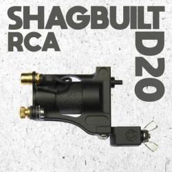 shagbuilt d20 tattoo machine rca black