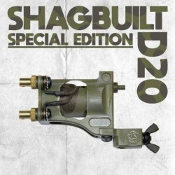 shagbuilt d20 tattoo machine special edition clip cord warbird