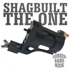 Shagbuilt The One Clip Cord Black - Tattoo Machine