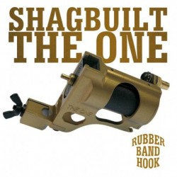 Shagbuilt The One Clip Cord Gold - Tattoo Machine