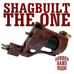 Shagbuilt The One Clip Cord Red - Tattoo Machine