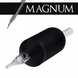 "Tattoo grip 09 Magnum - 1"" (25 mm) Clear Black"