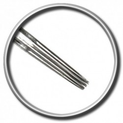 ago per tatuaggio magic moon 11 rl round liner 0,25 long taper tattoo needle
