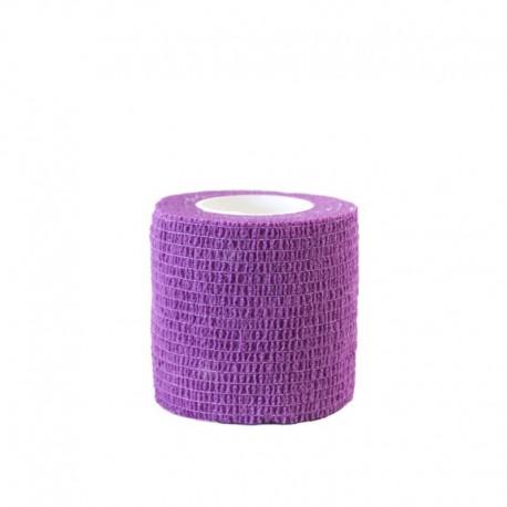 benda elastica coesiva tattoo grip tatuaggio autoaderente fascia lavender purple