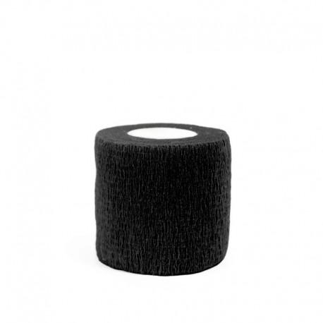 benda elastica coesiva tattoo grip tatuaggio autoaderente fascia black