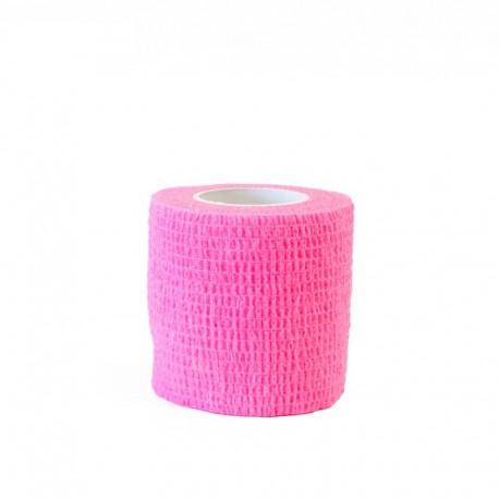 benda elastica coesiva tattoo grip tatuaggio autoaderente neon pink