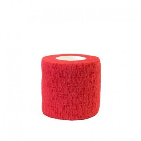 benda elastica coesiva tattoo grip tatuaggio autoaderente fascia red