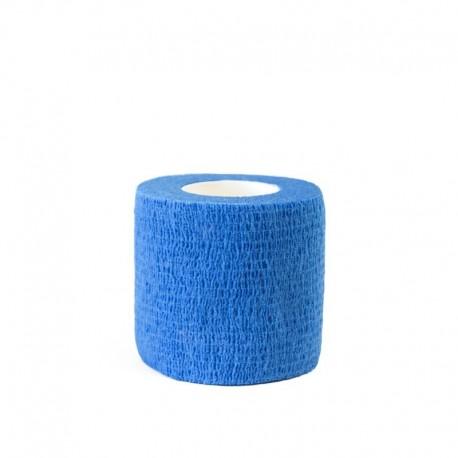 benda elastica coesiva tattoo grip tatuaggio autoaderente fascia blue