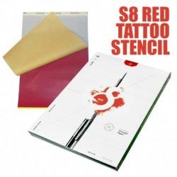 S8 Red Stencil Paper 20