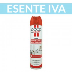disinfettante spray aria ambienti superfici utensili good sany 300 ml