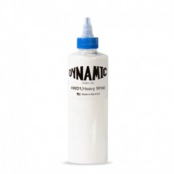 dynamic ink heavy white 240 ml colore bianco