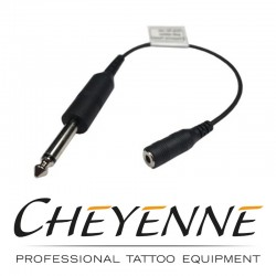 Cavo adattatore per Cheyenne da Jack 6,3 mm a 3,5 mm