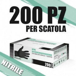 Guanti in Nitrile SF Medical 200 pz