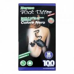 guanti lattice tatuaggio derma black nero tattoo