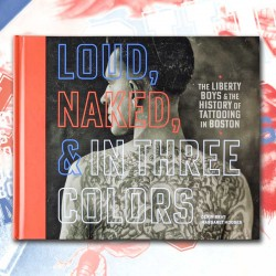 libro tatuaggio loud naked & in three colors tattoo book