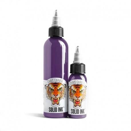 solid ink dirty purple chris garver colore tatuaggio tattoo colors