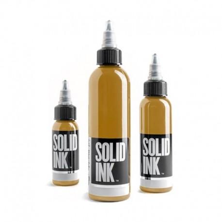 solid ink mustard opaque earth set colore tatuaggio tattoo colors