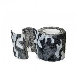 benda elastica coesiva tattoo grip tatuaggio autoaderente fascia grey camo