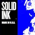 Blue Solid Ink