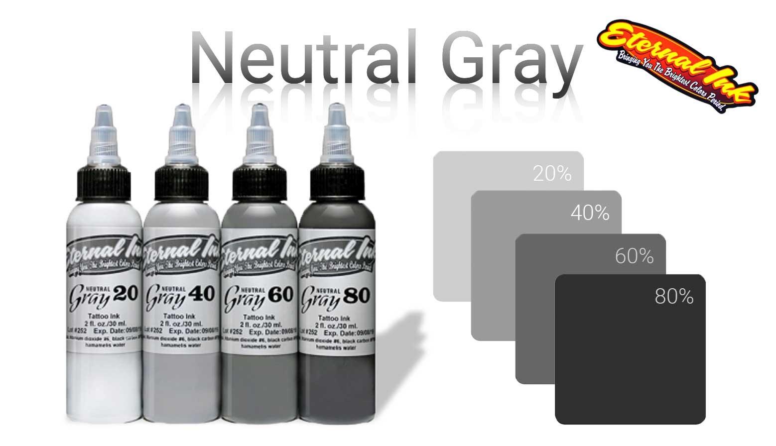 slideshow eternal ink neutral gray tattoo colors colori tatuaggio