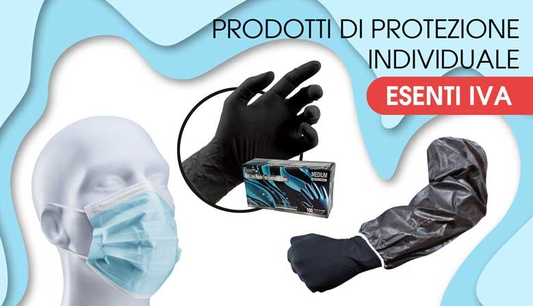 slideshow covid 19 prodotti protezione esenti iva