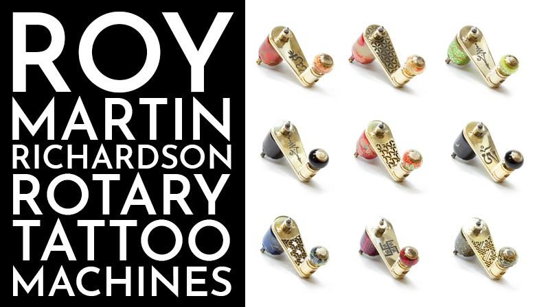 slideshow roy martin richardson rotary tattoo machines 11-2019