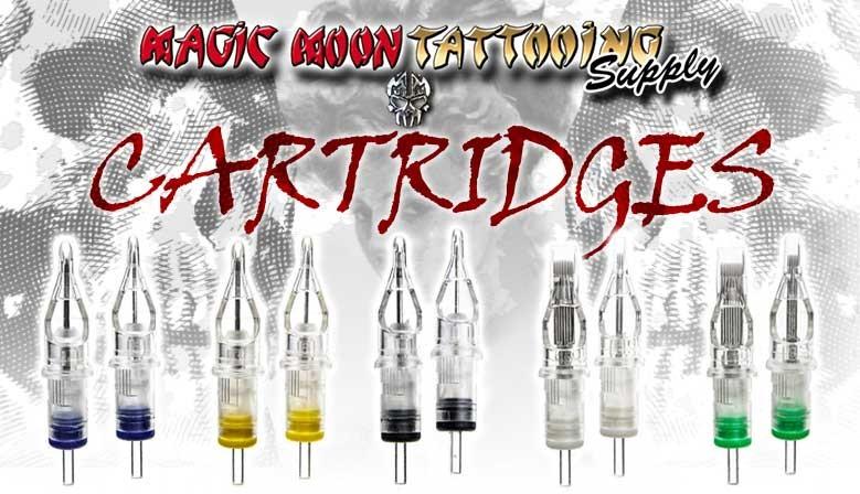 slideshow magic moon tattoo cartridges cartucce per tatuaggio