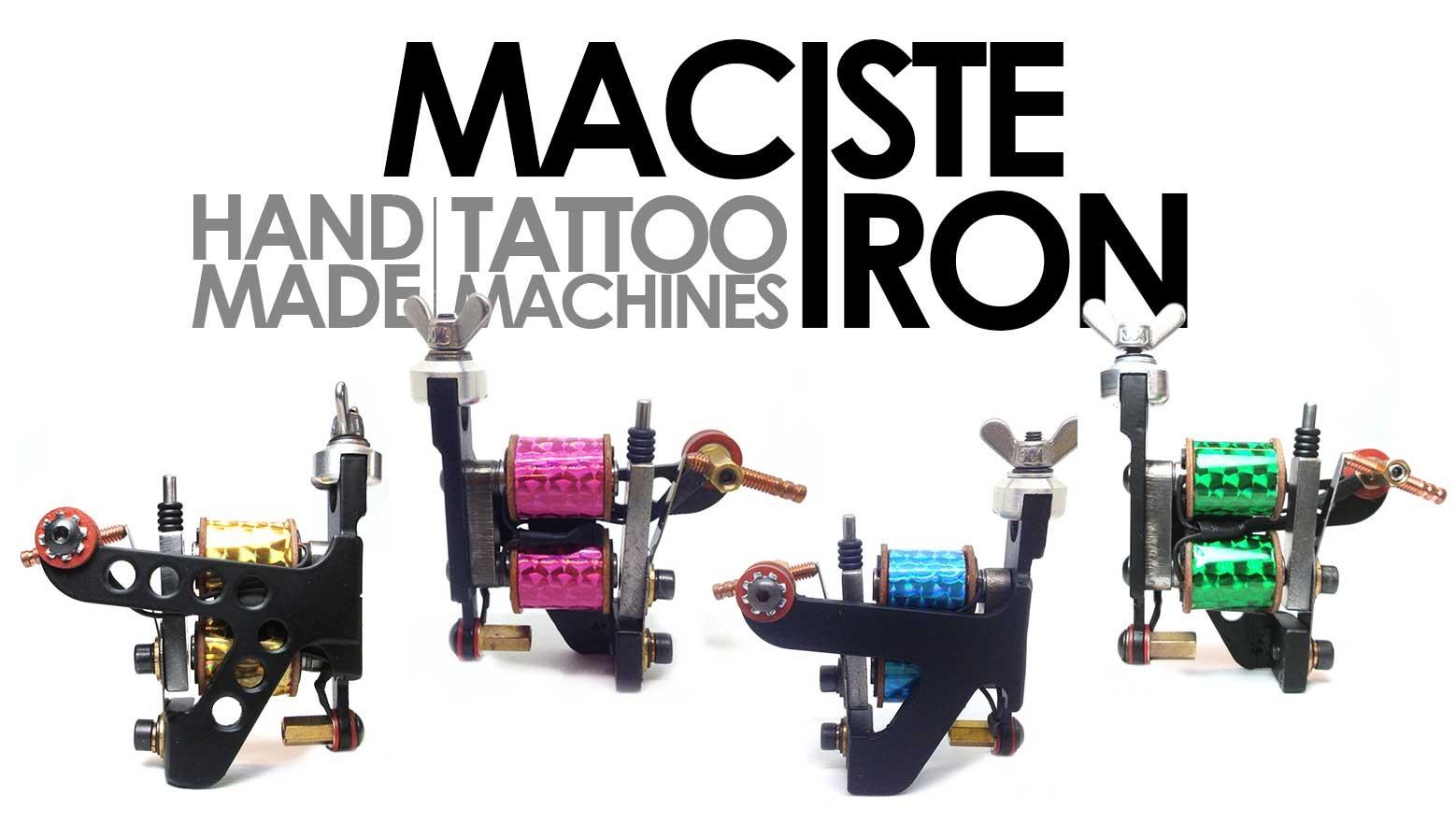 slideshow maciste iron tattoo machines